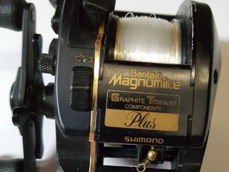 Vintage Shimano Bantam Magnumlite 2000SG Plus Japan Baitcast reel